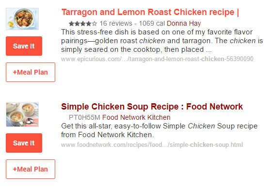Recipe Finder and Search