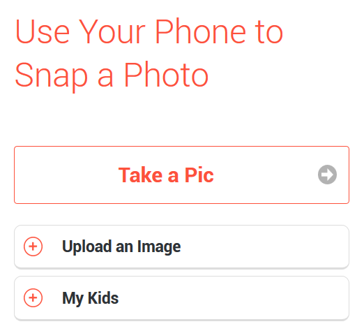 Snap a photo of your childs art with your phone